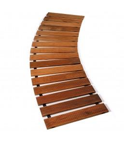 Ścieżka ogrodowa drewniany...
