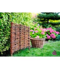 Płot wiklinowy ogrodzenie...
